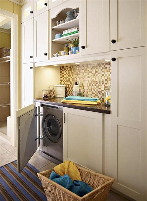 Laundry Room In Kitchen Ideas 20 Space Saving Ideas For Functional Small Laundry Room Design