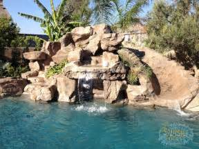 rock waterfalls for pools rock waterfalls slides glendora ontario pools