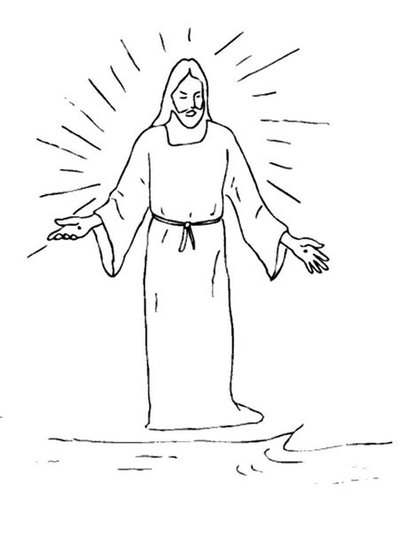 Coloring Pages Of Jesus Rising From The Dead   jesus rising from the dead coloring page sketch coloring