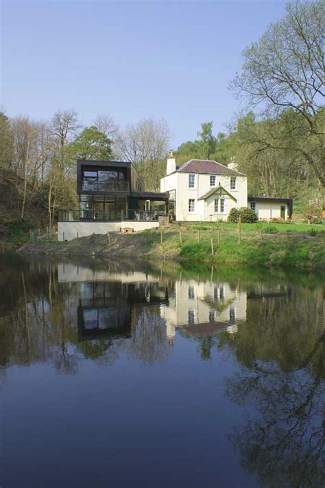 And Dean Cottage by Eddleston House Scottish Borders Home E Architect