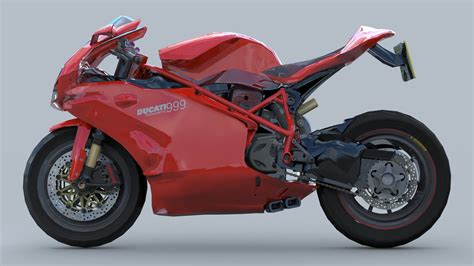 Kaos 3d Ducati Custom hodges ducati 999 custom