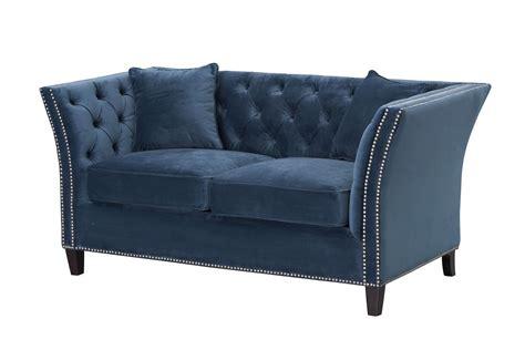 sofa chesterfield modern velvet midnight  sitzer