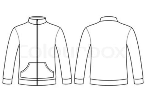 sleeved t shirt template vector colourbox