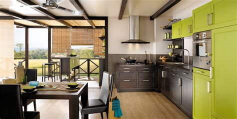 green kitchen interior design stylehomes net delia guava green and wenge wood kitchen model