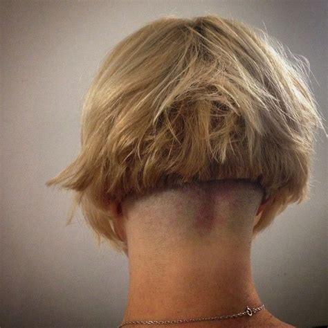haircut bob undershave 76 best bob undershave images on pinterest short