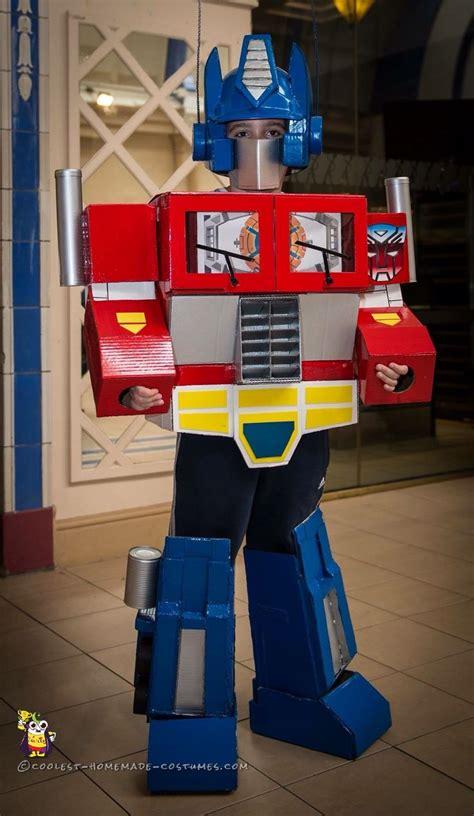 coolest  optimus prime costume transformer halloween