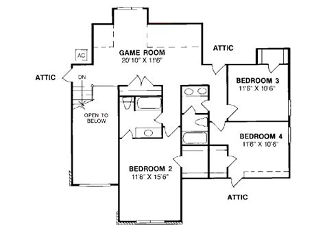 house 4303 blueprint details floor plans