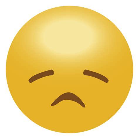 imagenes de un emoji triste emoticon amarillo triste emoji descargar png svg