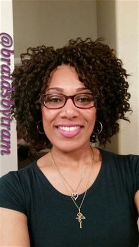 biba soft dred curl shaved sides with more crochet braids awesome hair