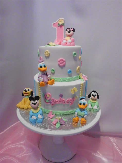 fabulous st birthday cake  baby girls