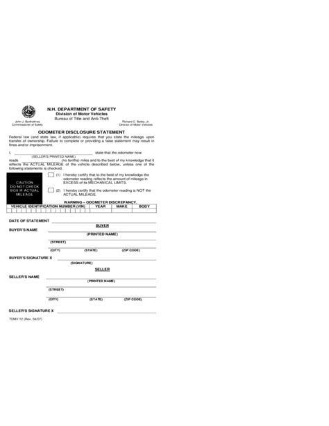 Vehicle Bill Of Sale Form New Hshire Free Download Nh Vehicle Bill Of Sale Template