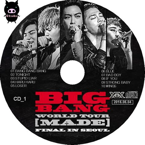 Original Dvd Big Made In Seoul jyjラベル たまに 2016 bigbang world tour made in seoul live cd