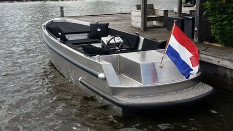 aluminium open boot vanvossen 777 tender verschuur watersport