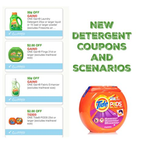 Laundry Coupons Printable