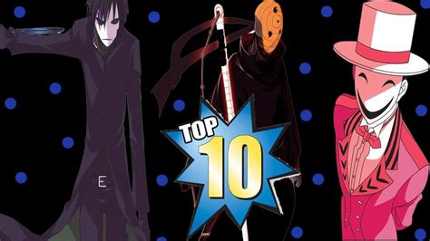 Character Mask top 10 anime characters that wear mask