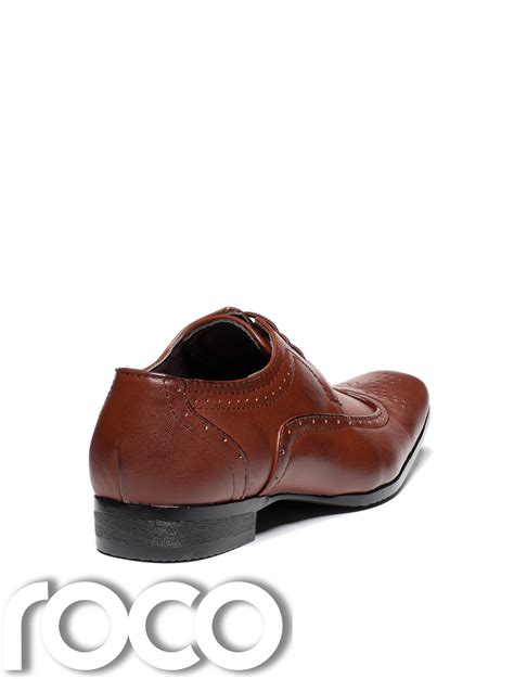boys formal shoes cherry brown shoes boys brogues brown