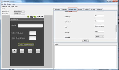 calculator xml simple calculator using mono for android