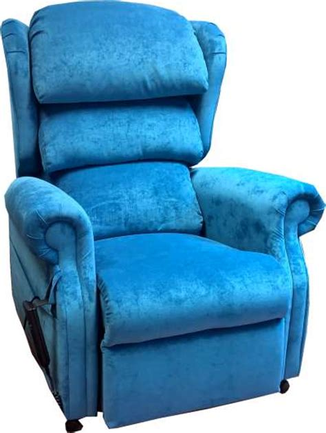 teal riser recliner chairs repose rimini single motor tilt in space riser chair