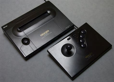 neo geo aes console 25 years of snk s neo geo gaming platform the register