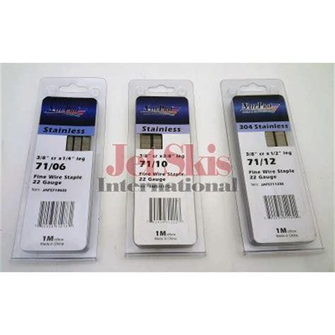 Stainless Steel Staples For Marine Upholstery by 22 Guage Stainless Steel Marine Upholstery Staples