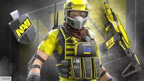 rainbow  siege esports teams skins revealed