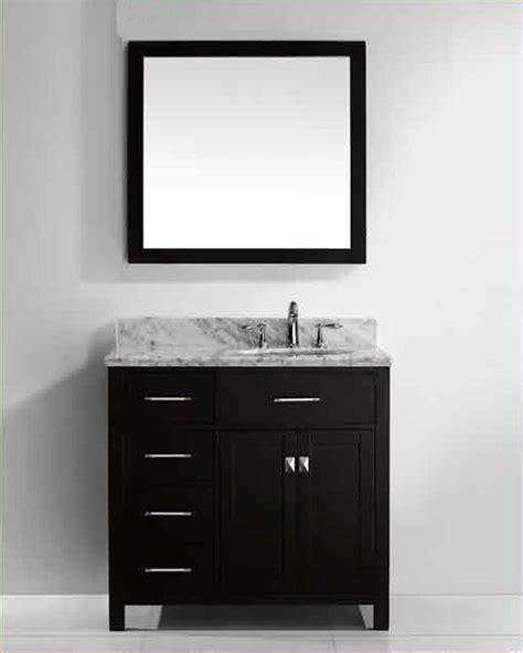 round bathroom vanity virtu usa 36 quot round sink bathroom vanity caroline vu ms
