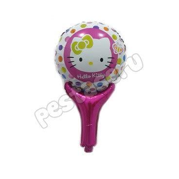 Balon Foil Hellokitty Jumbo 110x675cm balon tongkat hello pestaseru toko grosir perlengkapan pesta