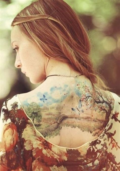 beautiful nature tattoos barnorama