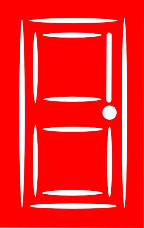 Red Door | red door clip art at clker com vector clip art online