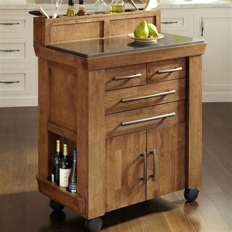 gourmet kitchen island vintage gourmet kitchen island with granite countertop