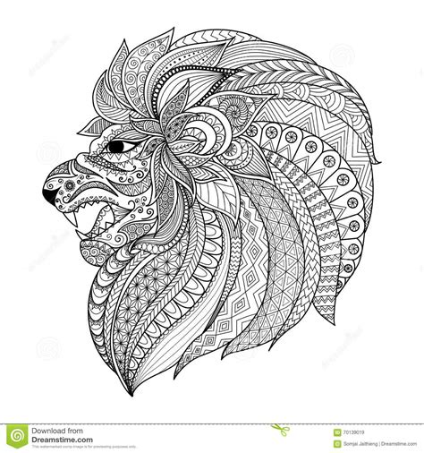 Graphic Coloring Pages detailed zentangle stylized for t shirt graphic