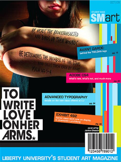 layout cover magazine lesson plan magazine cover design