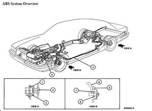 Brake Line Parts Diagram Mercury Grand Marquis Ls I Need A Brake Line Diagram For A