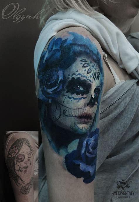 la muerte tattoo santa muerte by olggah on deviantart