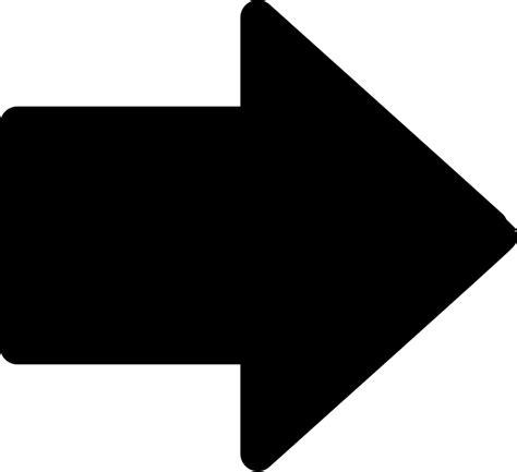 fileright simple arrow blacksvg wikimedia commons