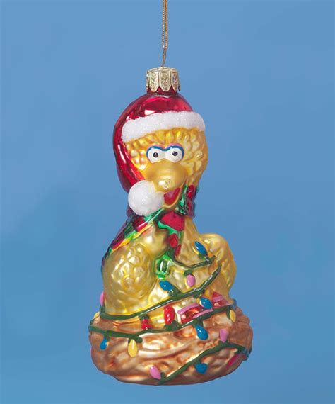 big bird glass ornament modern christmas ornaments