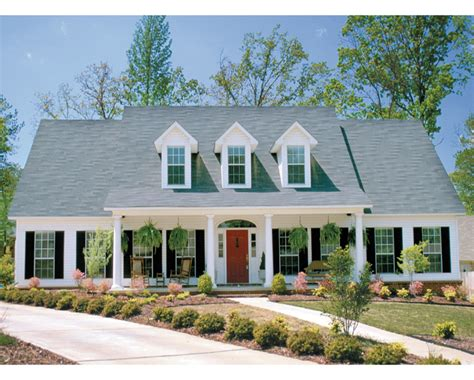Victorian Era House Plans Wrap Around Adobe Homes Old Colonial Homes Colonial Homes