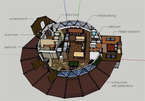 small geodesic dome home plans house design ideas