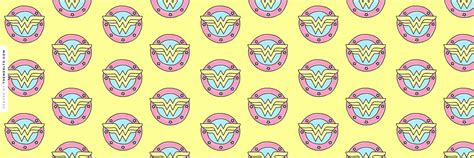 Drawn Wonder Women Logo Twitter Header   Random Wallpapers