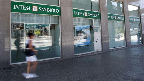 Banca Intesa Sanpaolo Italia by Italian Bank Intesa Sanpaolo Sees Q2 Profits Dip Slightly