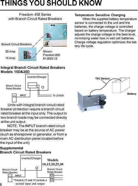 xantrex freedom 458 inverter wiring diagram circuit