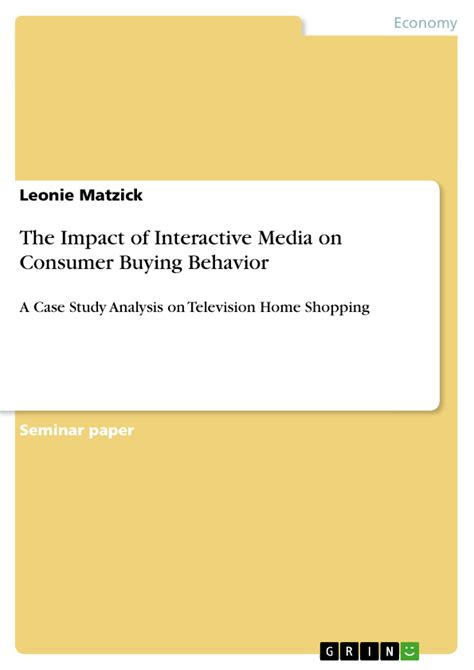 effect of business ethics on buying behaviour books the impact of interactive media on consumer buying