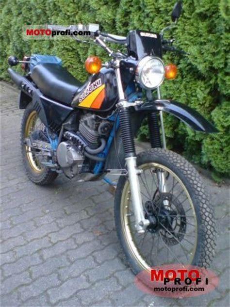 1986 Suzuki Sp200 Suzuki Dr 250 S 1986 Specs And Photos