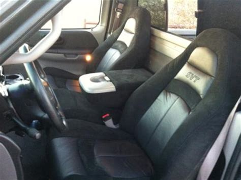 2000 ford lightning seat covers tmi f 150 svt lightning seat upholstery kit svt logo