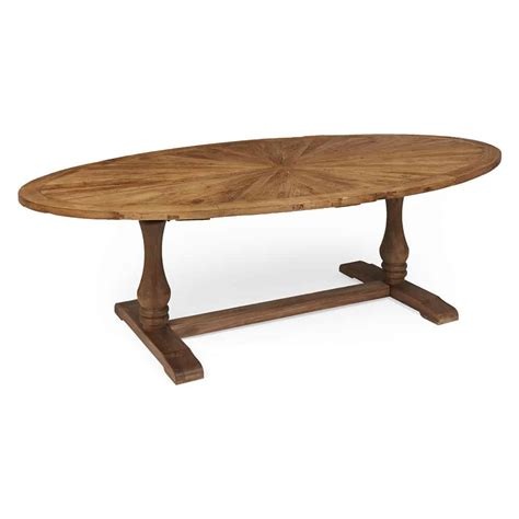 Reclaimed Wood Oval Dining Table Boston Oval Reclaimed Wood Dining Table Www Dmwfurniture Co Uk