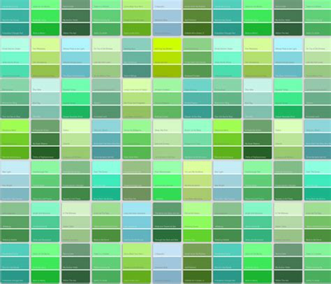 paint chips with names green fabric weavingmajor spoonflower