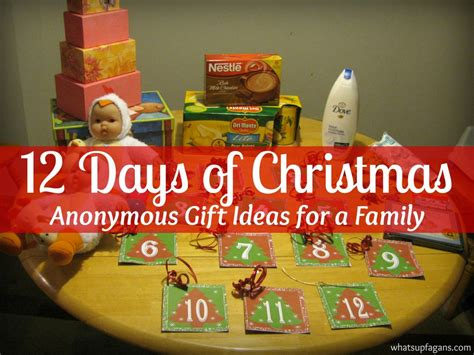 best 12 days of christmas gifts twelve days of