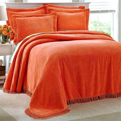 Orange Bedspread Dawson Novels Bits