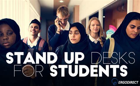 stand up desks for students standing desks for students ergodirect