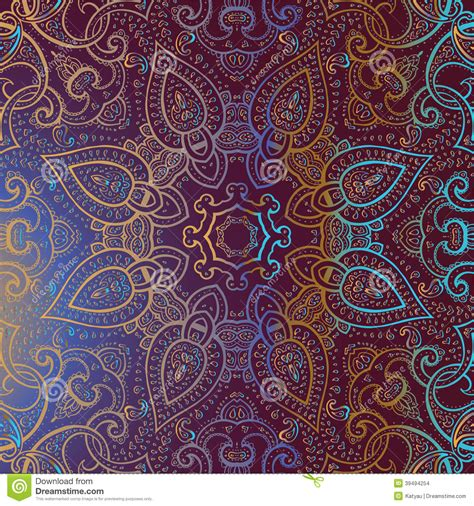 indian pattern background vector mandala indian decorative pattern stock illustration